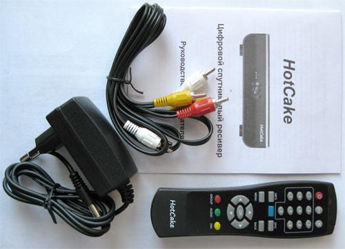 Дешевый спутниковый ресивер с картоприемником и эмулятором HotCake