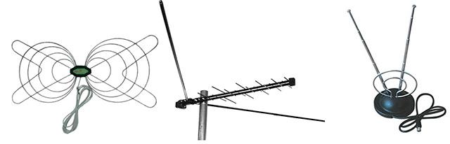 Антенны для цифрового эфирного телевидения