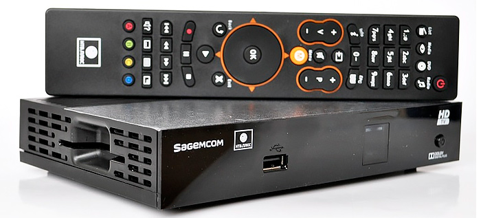 Ресивер для НТВ+Дальний Восток Sagemcom DSI74-HD