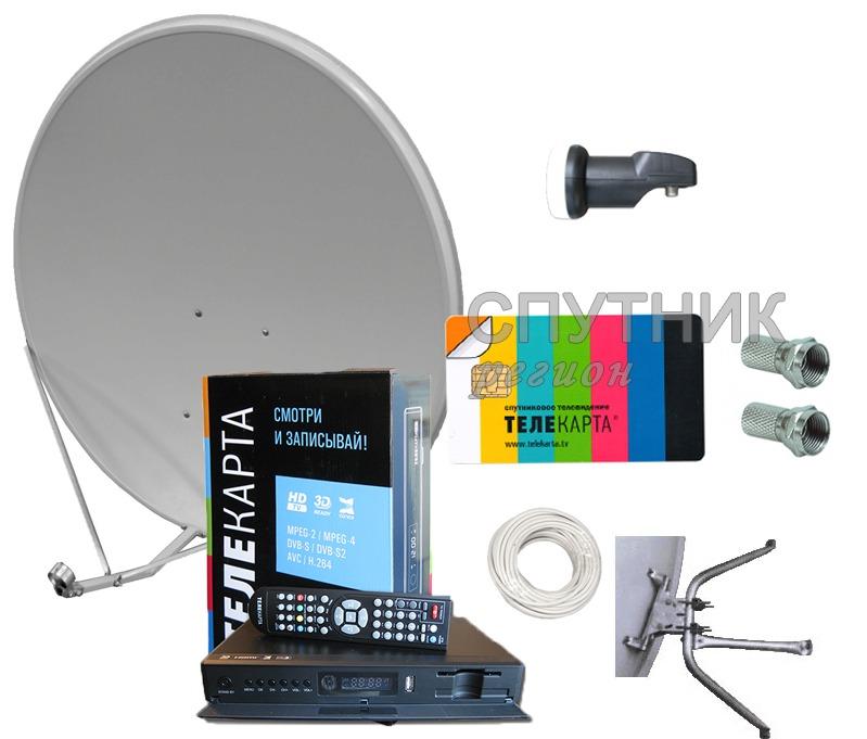 """Полный комплект """"Телекарта Восток HD"""" с EVO 05 - Телекарта Восток (Регистрируем) - Спутник-регион"""