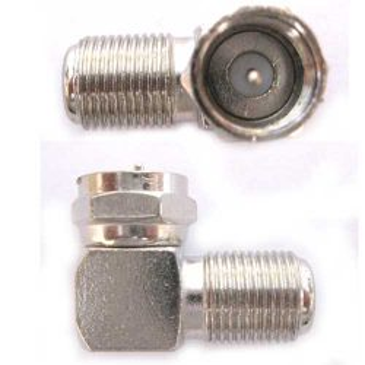 Соединитель F коннектор угловой